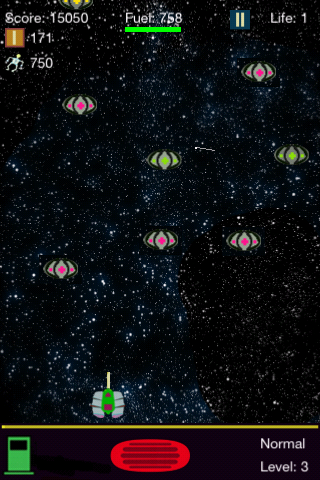 Screenshot Galaxy Pilot
