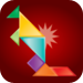 Tangaroos - A Tangram Puzzle Game for Fun and Education