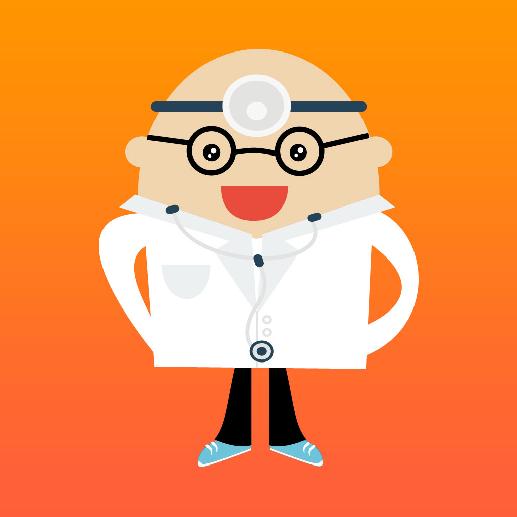 Little Med School Tummy Doctor - Be a Hospital Surgeon and Rescue the Patient.  Kids Games for Girls & Boys PRO